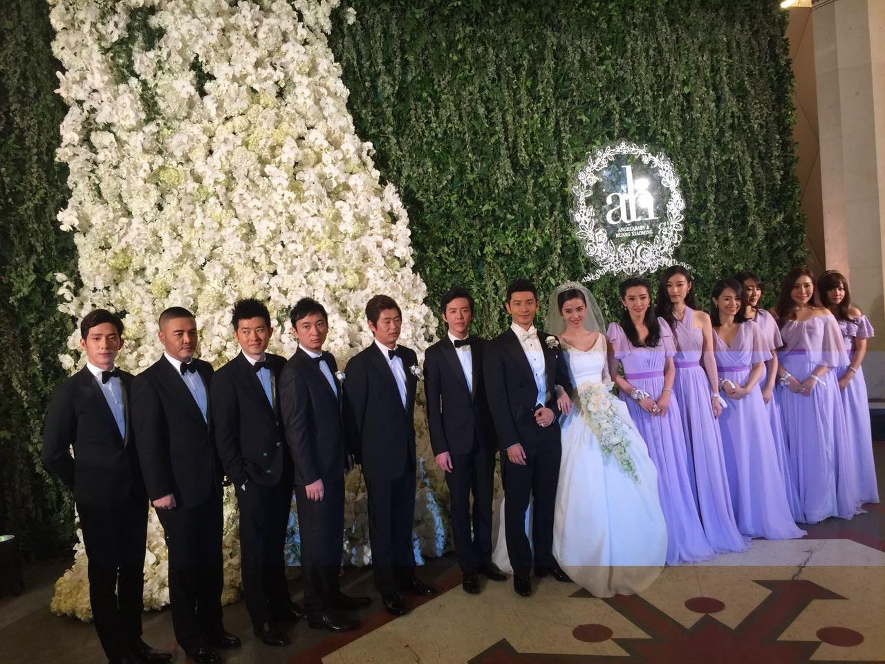 黄晓明baby婚礼爱情名单没有邀请曝光邓超李易峰好看的嘉宾古风电视剧图片