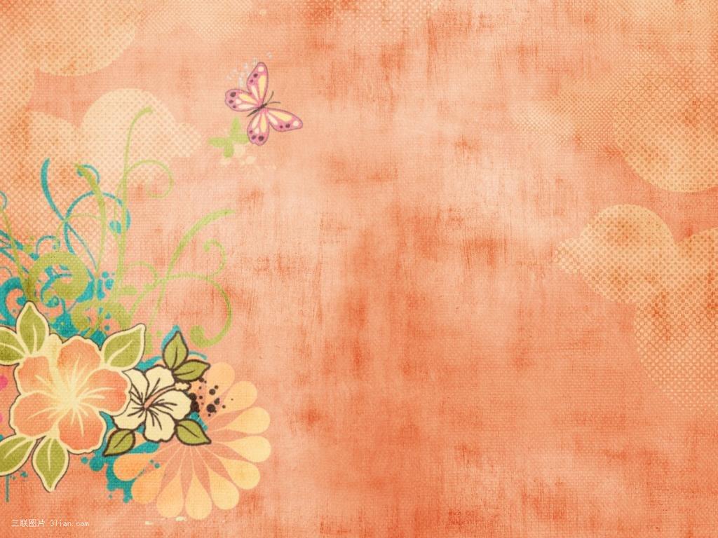 小清新配色手绘背景素材图片