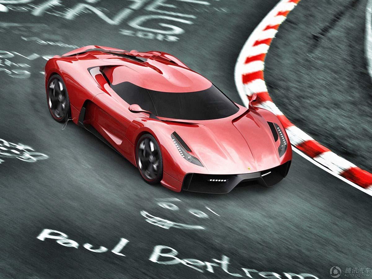 设计师暴改法拉利458 酷似柯尼塞格