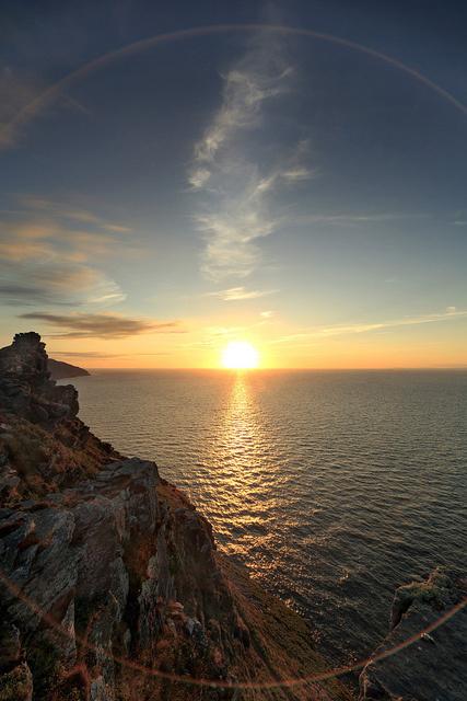 唯美夕阳清新大自然风景摄影图片 最美不过