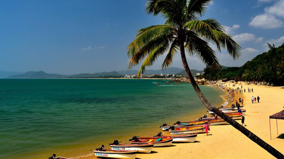 海南三亚天涯海角旅游风景图片