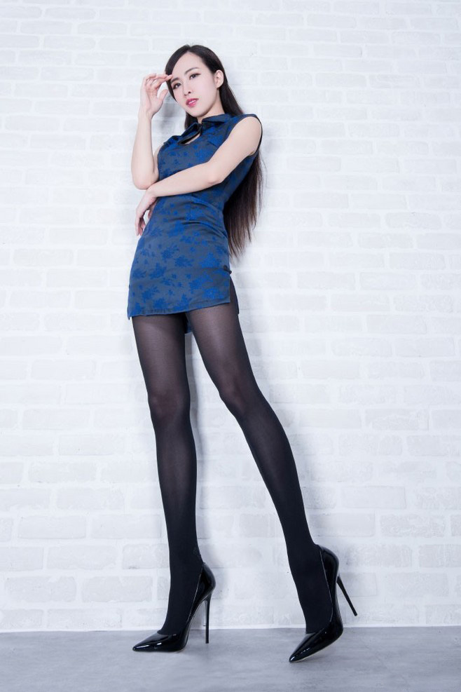 beautyleg大长腿dora旗袍制服诱惑性感迷人