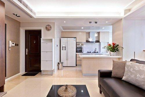 55平2室1厅小户型家居装修设计