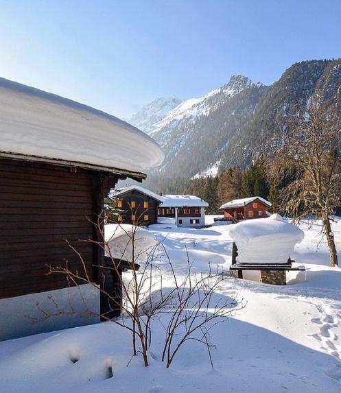 瑞士冬季雪景精选自然风景图片欣赏