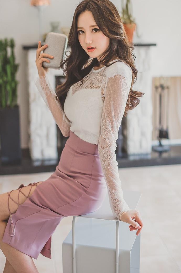 有美女�9��y�9�-yol_大胸美女李妍静ol职业套装性感写真