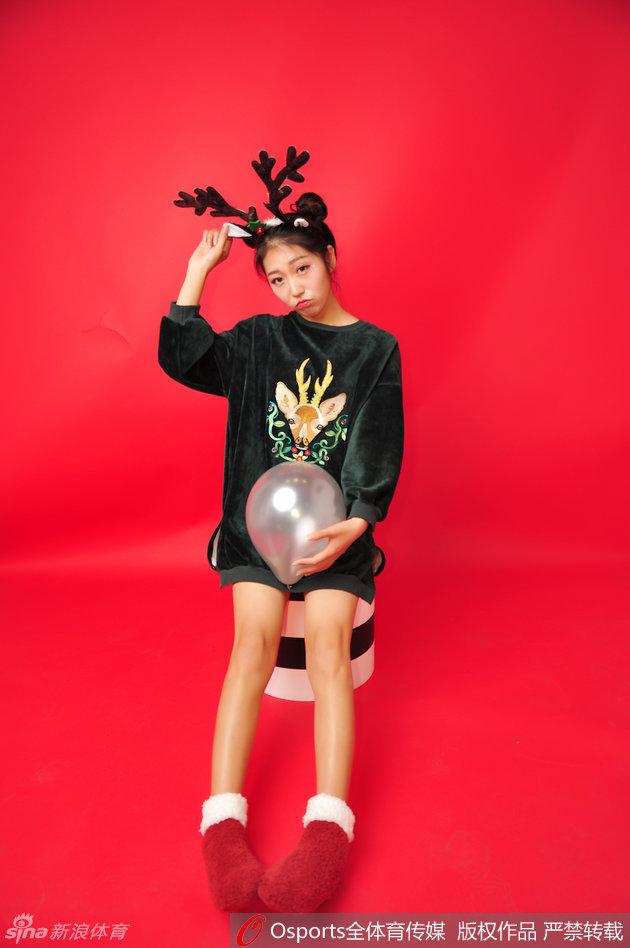 山东篮球宝贝圣诞主题写真_图片新闻_东方头条