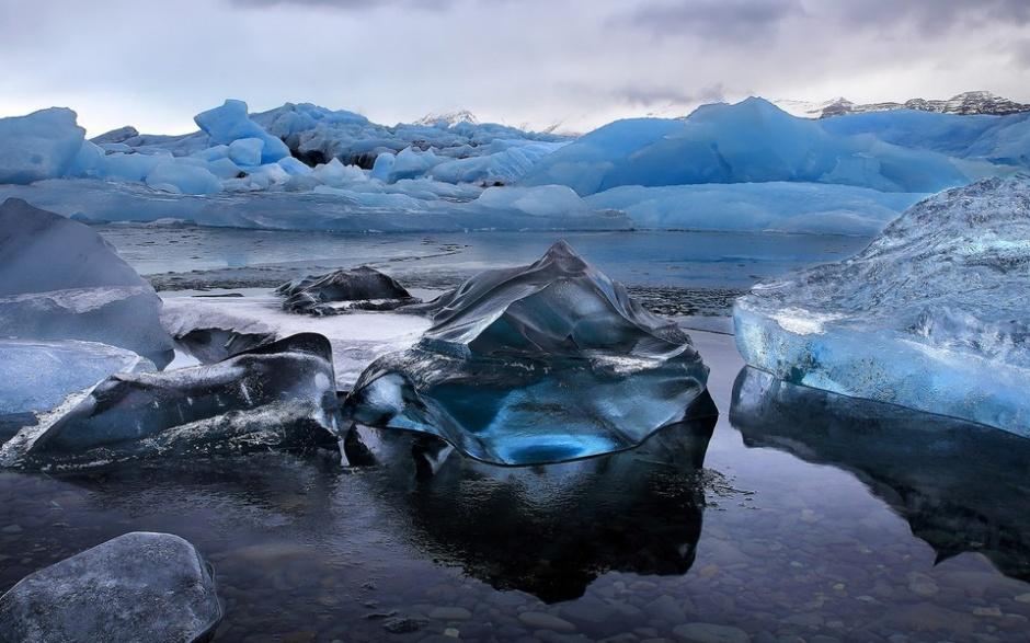 冬天唯美的冰雪风景图片