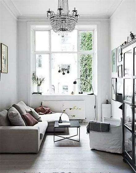 13个北欧风格小客厅装修 摆脱户型难题