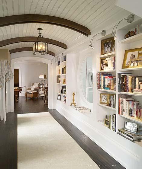 走过最美的风景 12图走廊背景墙装饰装修图