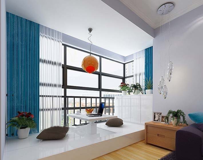 高出不一样 10款室内地台装修设计图