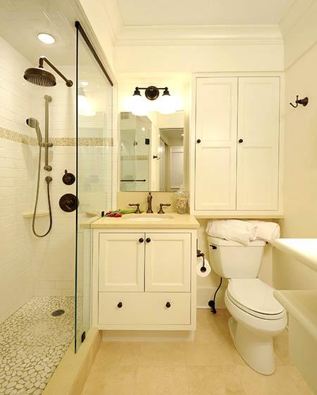 11个干湿分离卫生间装修效果图 清爽无限