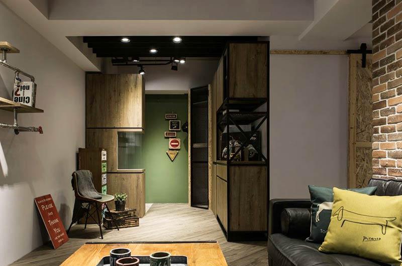 70平小户型loft风格装修 小空间的冒险旅程