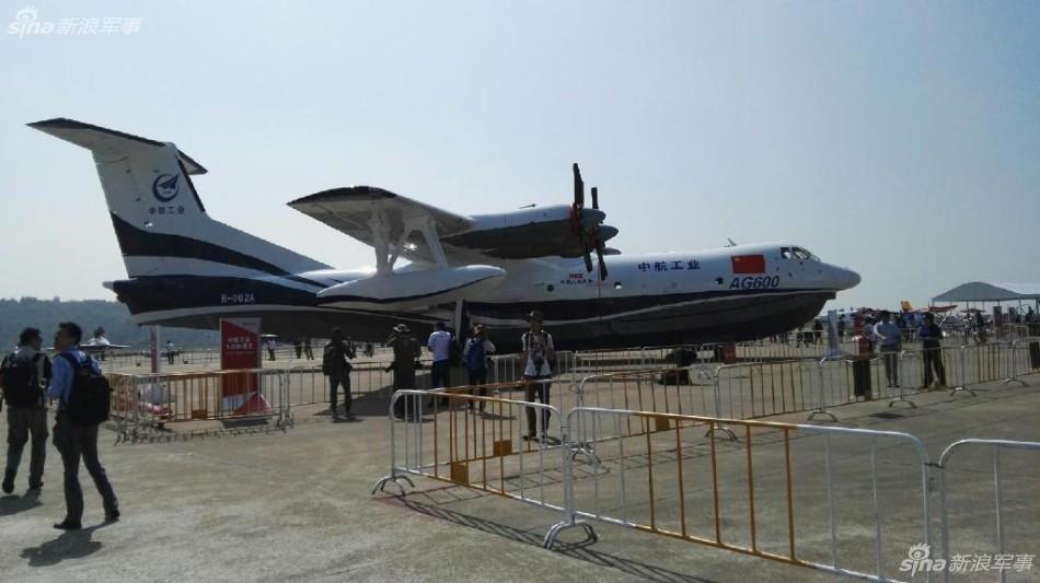 可快速部署南海!中国ag600水上飞机交付试飞