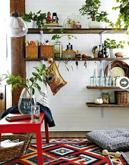 打造春季杂货铺 10款室内小花园装修装饰图片