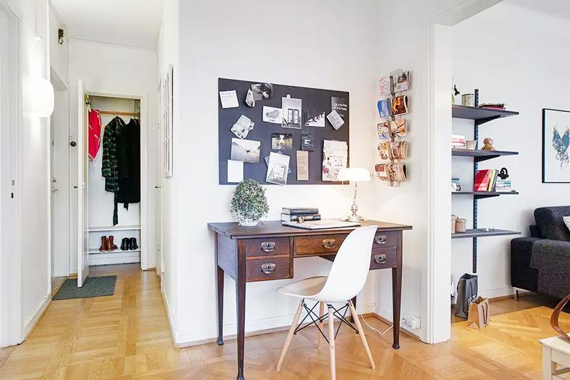 37.5平米北欧风格单身公寓装修 清新雅致