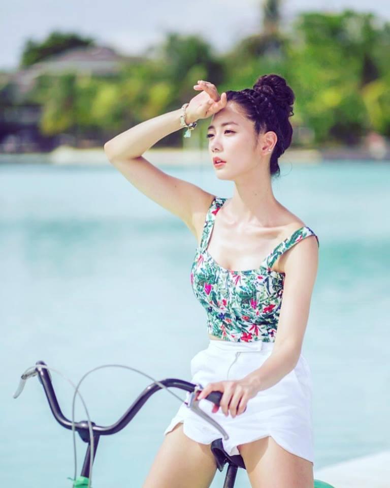 我爱亚洲美女_凹凸曼:亚洲第一美女爱健身 魔鬼身材令人羡慕