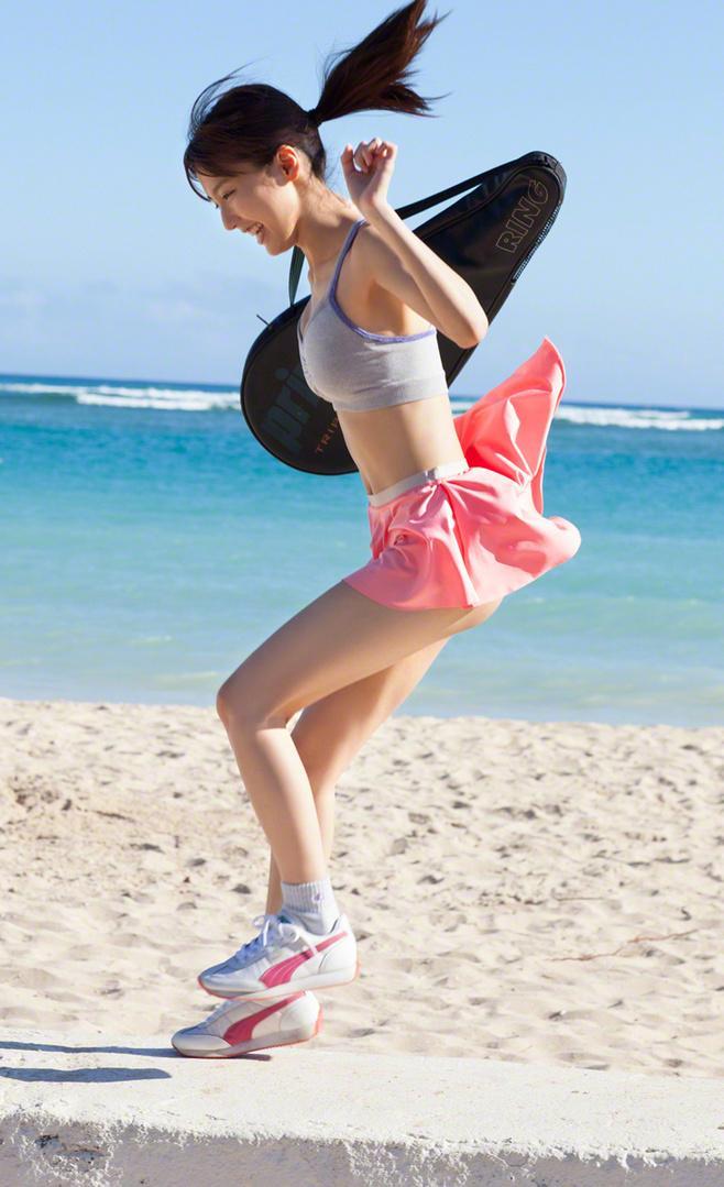 大胆人体风��j&_清纯少女运动风人体艺术个性写真