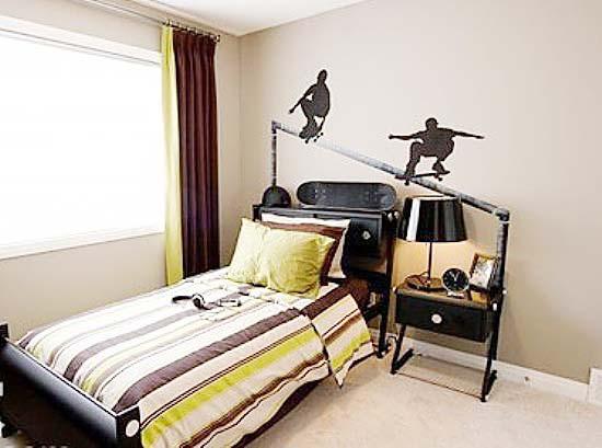 家庭运动会 11款运动型卧室装修效果图片