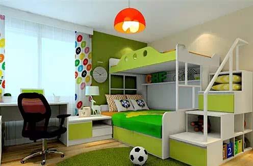 家庭運動會 11款運動型臥室裝修效果圖片