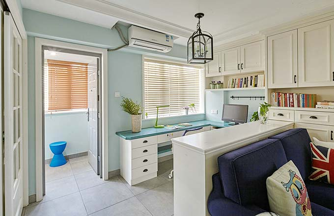 老房变新居 82平一居室美式公寓装修效果图