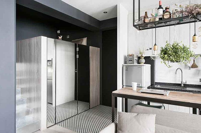 30平小户型单身公寓装修 精致的女子公寓