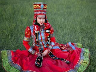 蒙古族美女图片 少数民族美女图片
