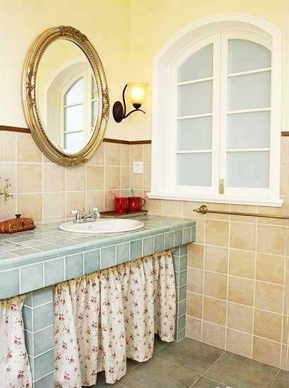 新方式新生活 10个卫生间砖砌洗手池图片
