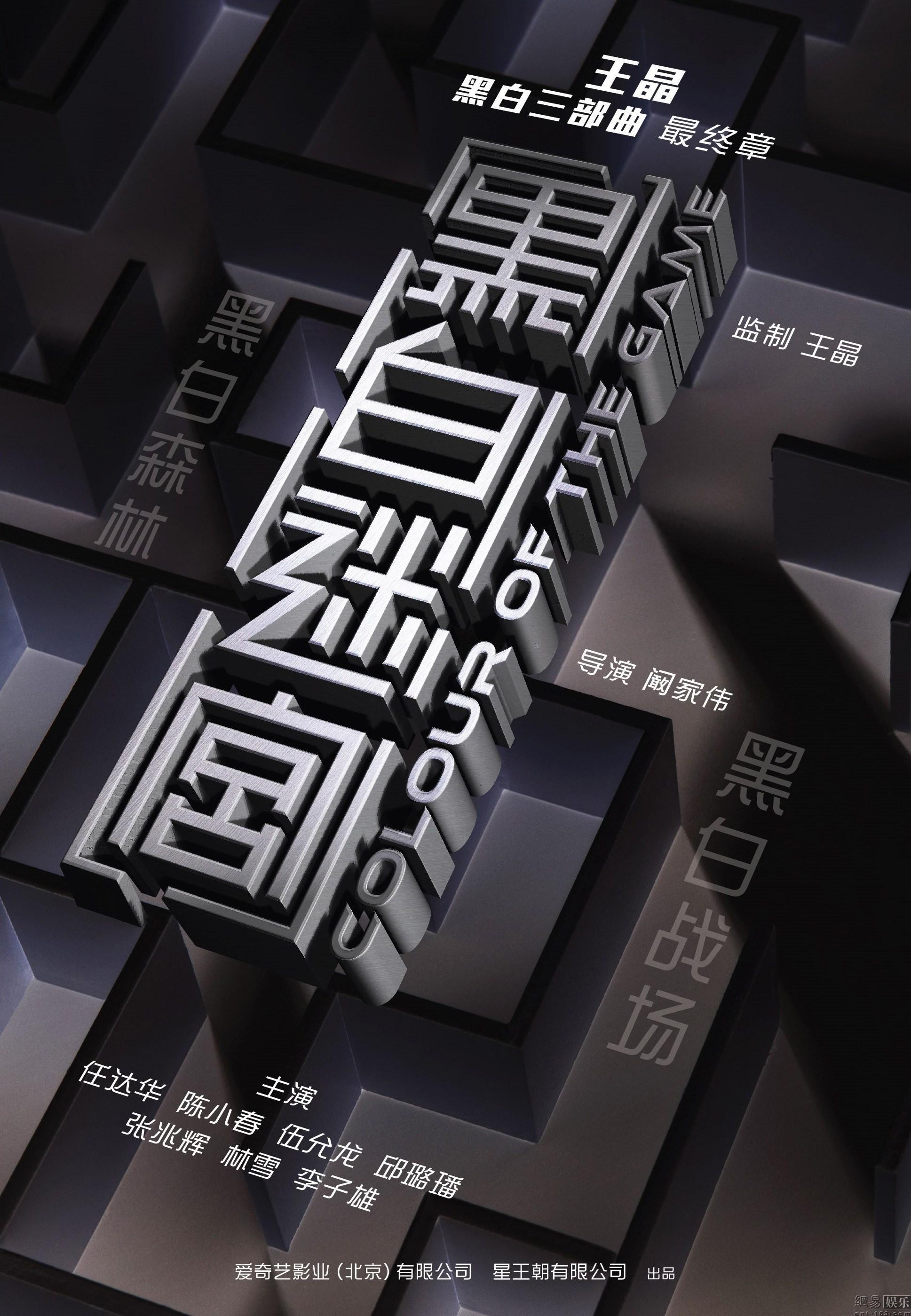 电影《黑白迷宫》海报