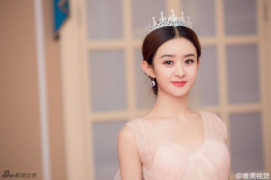 赵丽颖唯美写真甜甜的非常软萌可爱