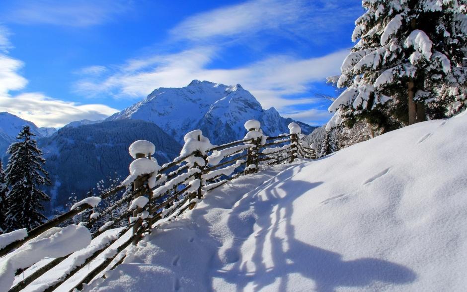 下雪的夜景图片大全 冰天雪地冬天下雪的图片大全高清电脑桌面壁纸