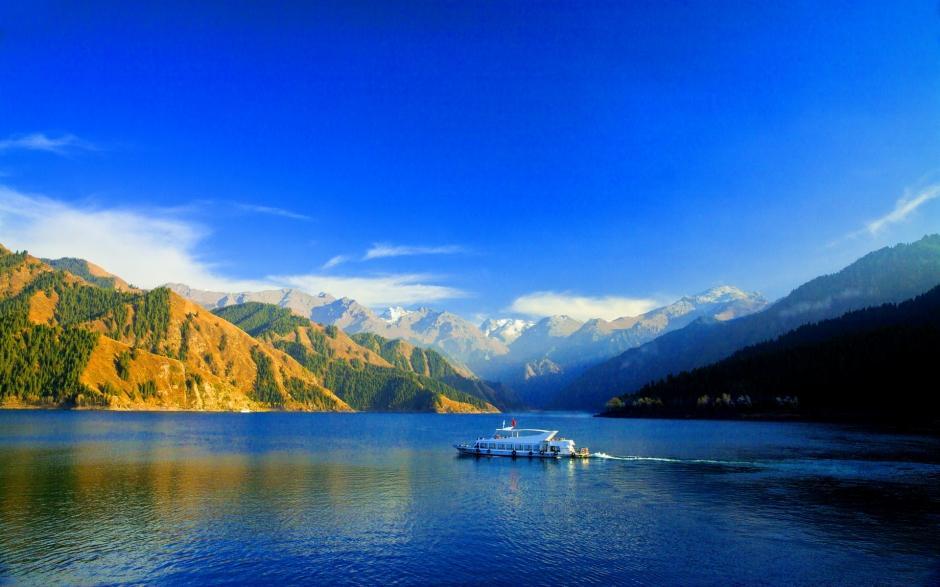 新疆天山雪景图片 新疆天山山脉壮丽风景摄影高清电脑