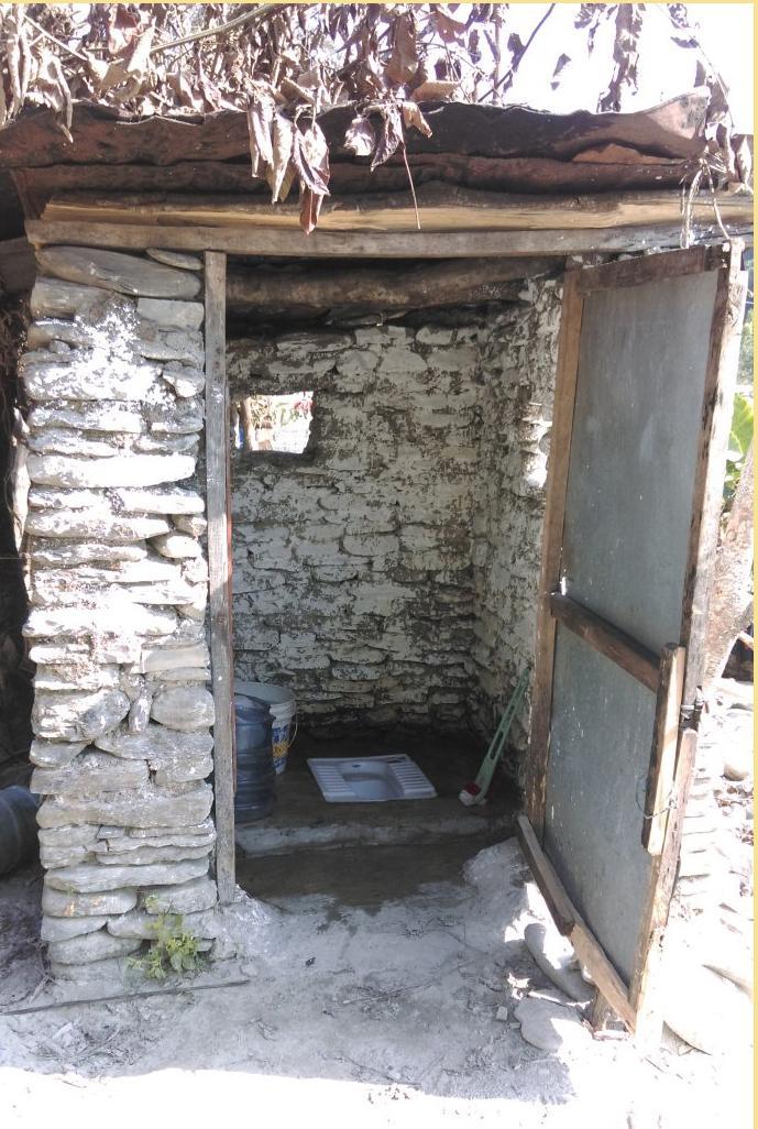 农村浴室下水道设计图