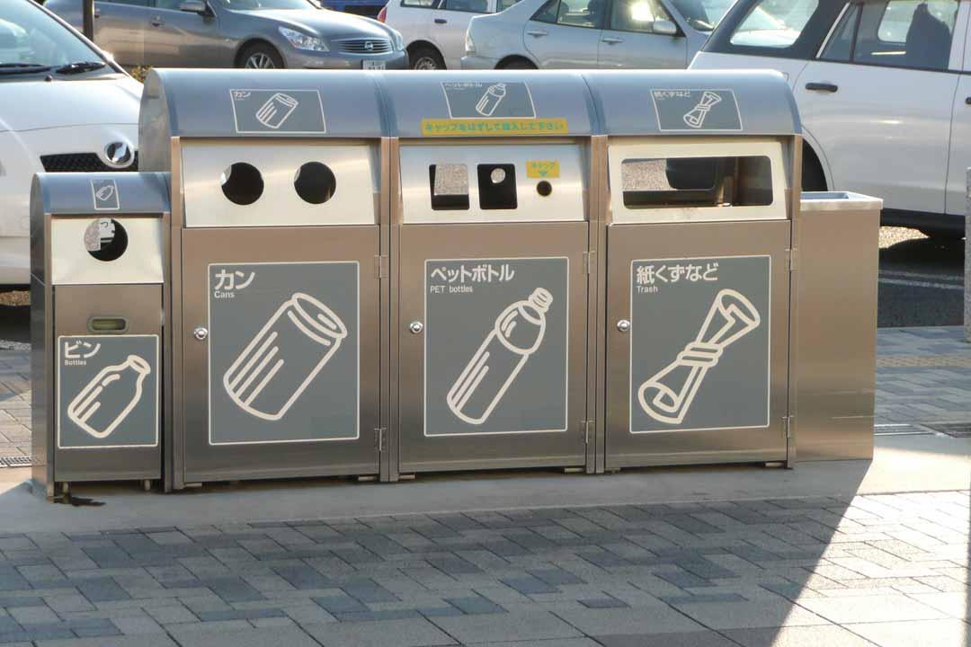 世界卫生日:盘点全球最奇特垃圾桶 贴心设计不再辣眼睛图片