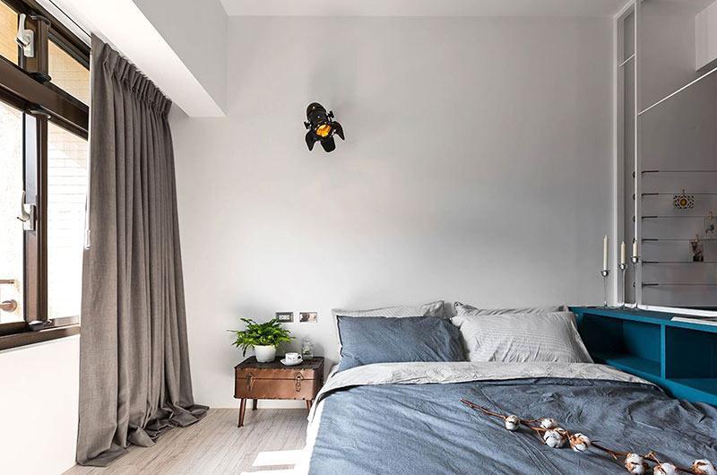 小户型loft风格旧房改造装修 冉冉新生