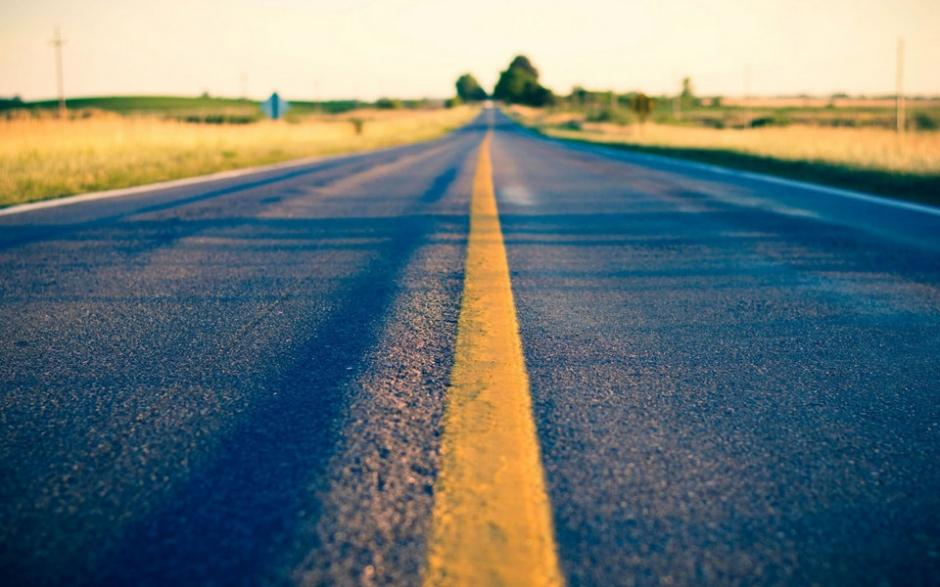 公路风景壁纸唯美图片桌面