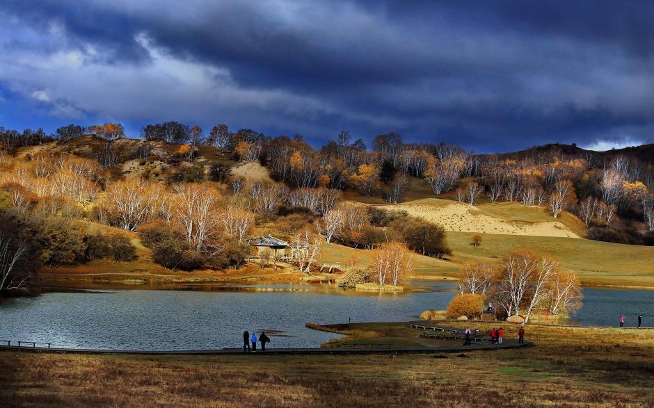 秋季大自然迷人风景图片桌面壁纸
