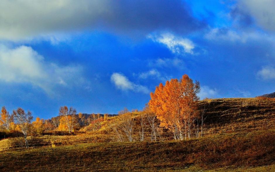 秋季大自然迷人風景圖片桌面壁紙