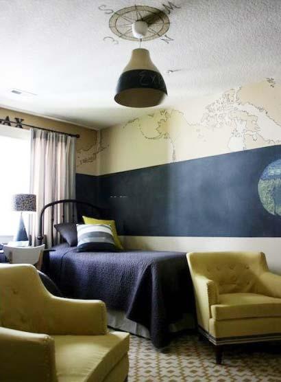 個性十足 10款男生臥室裝修圖片