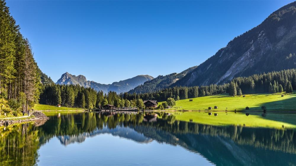 精选好看的大自然山水相映唯美风景高清图片桌面壁纸下载