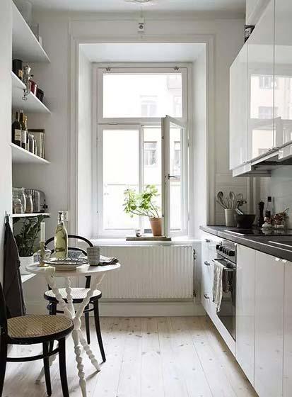 长方形特色 10款小户型厨房装修图