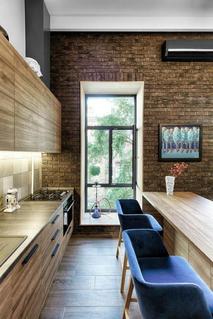 49平米loft公寓装修效果图
