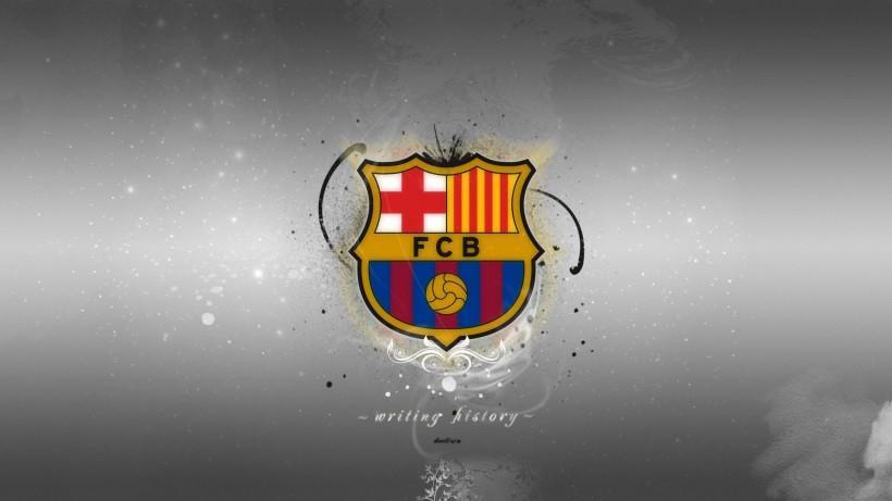 巴塞罗那队徽桌面壁纸