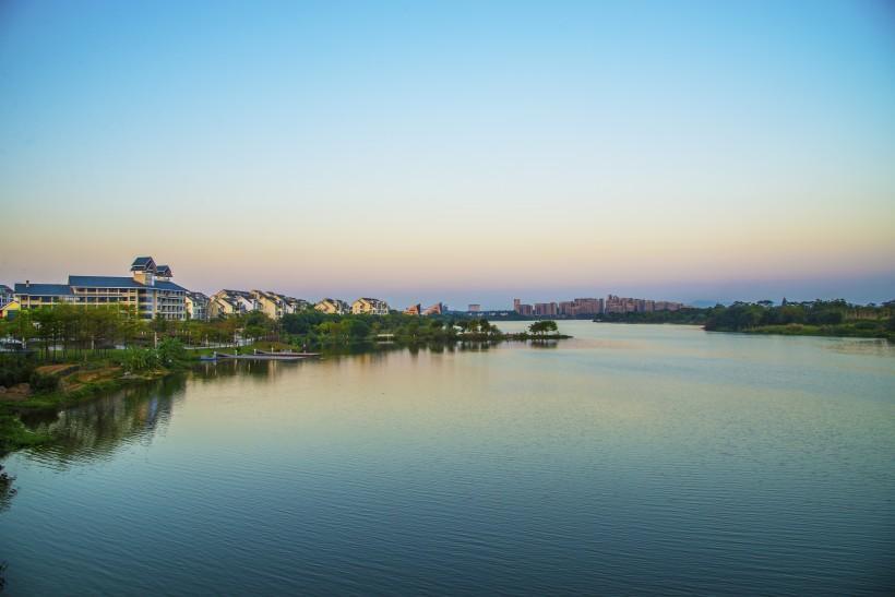 广东东莞松山湖风景图片