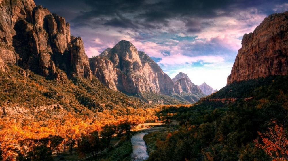 美丽的自然山水风景高清图片电脑桌面壁纸