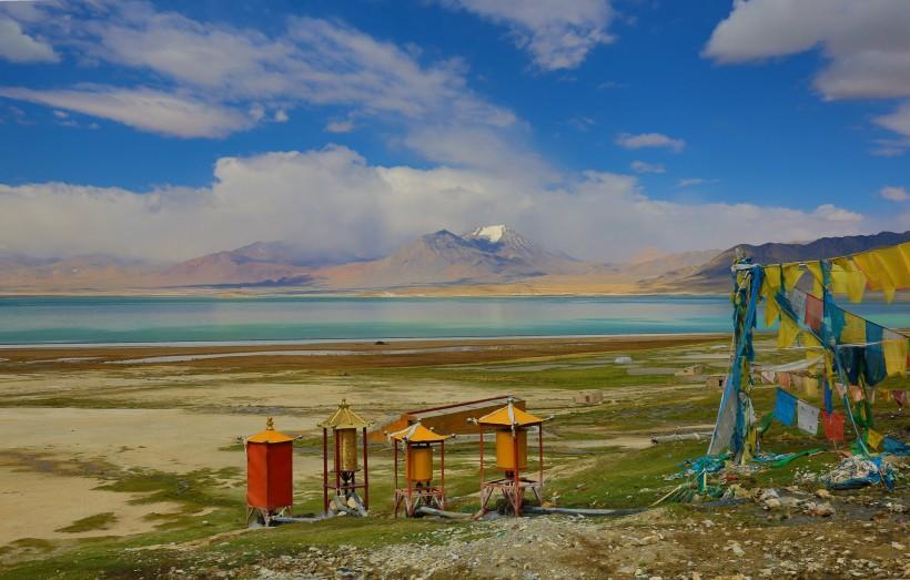 西藏当穹错风景图片