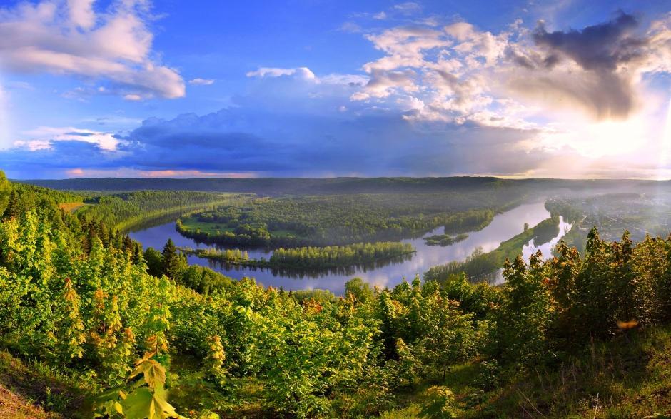清新唯美大自然风景桌面壁纸