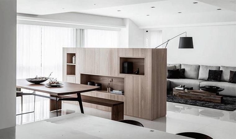 素色美家 台式风格两居室装修图片