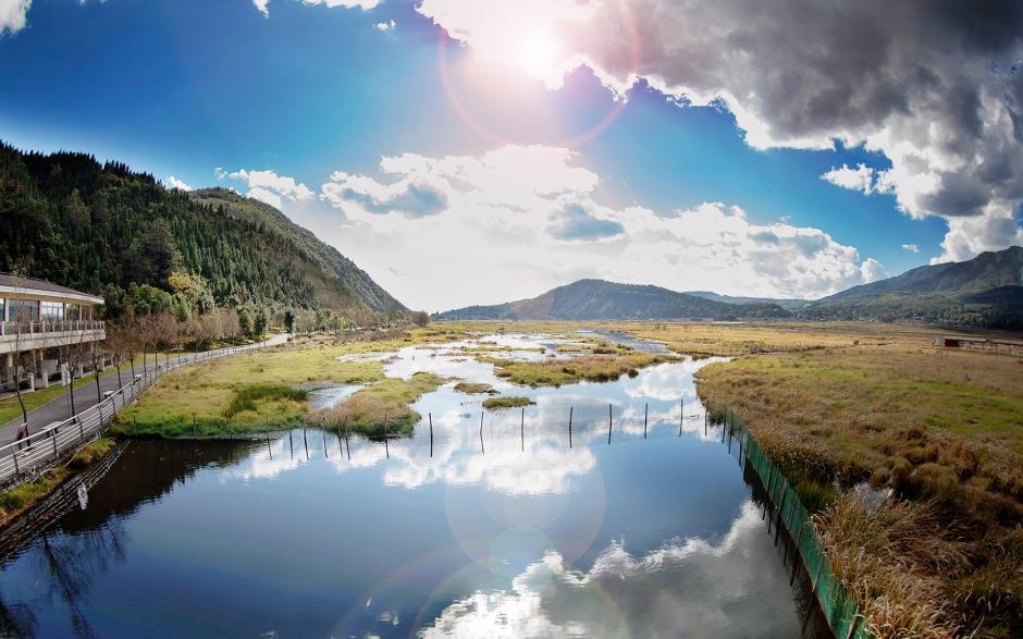 腾冲北海湿地风景壁纸高清