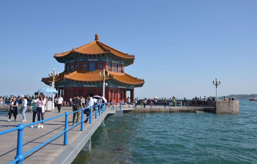 山东旅游图片—青岛栈桥