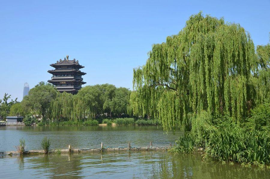 山东旅游图片—济南大明湖